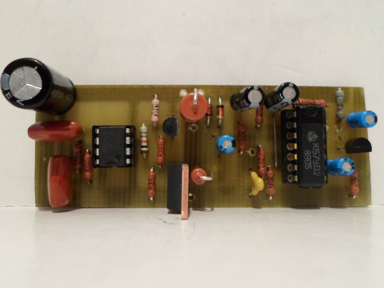 металошукач схема транзісторний