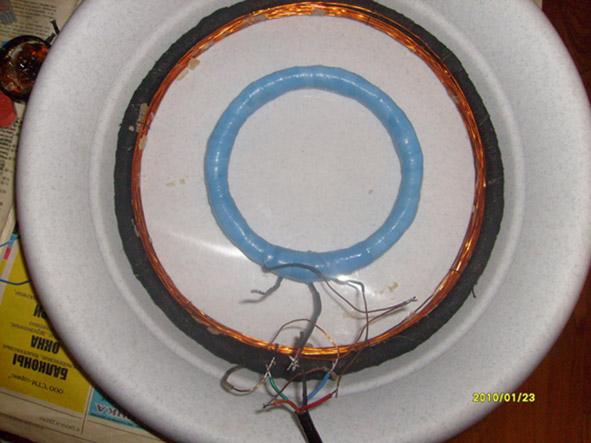 Изготовление катушки для Терминатора 3 своими руками