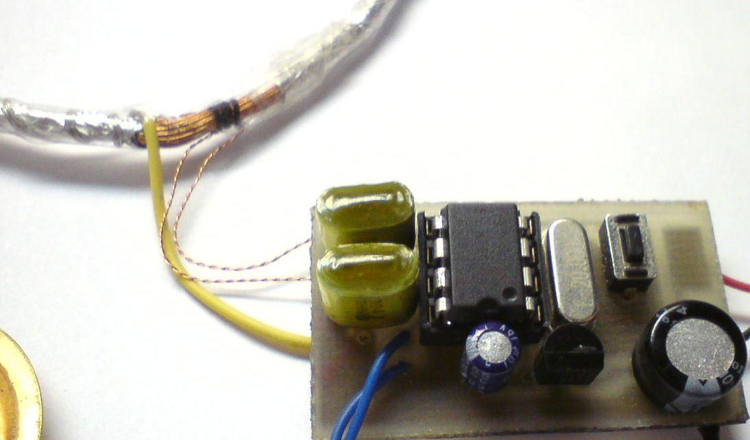 Металлоискатель своими руками из радио и калькулятора