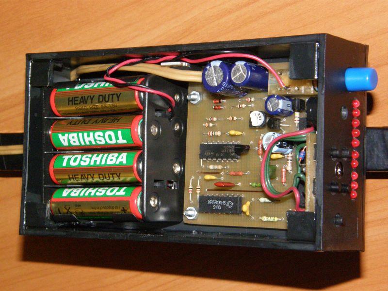 Собранный блок металлоискателя