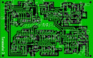 Плата металлоискателя Терминатор 3