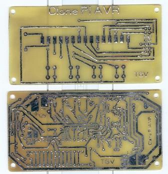 Плата металлоискателя Clone Pi AVR
