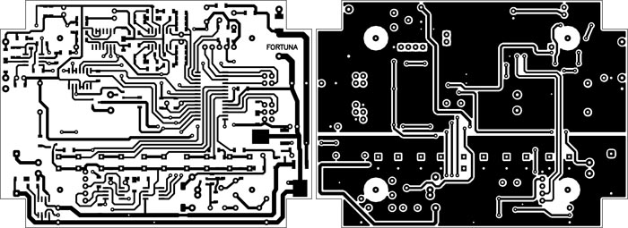 Печатная плата металлоискателя Фортуна