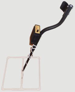 Глубинный металлоискатель с квадратной рамкой